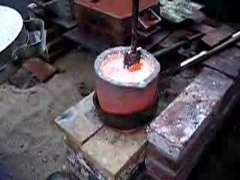 Home built foundry