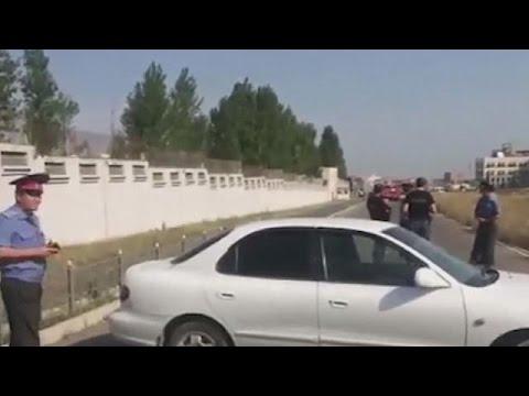 Kod ambasade Kine u Kirgistanu poginuo napadač, troje povredjeno