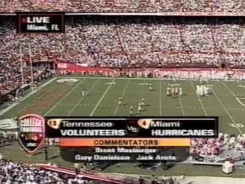 2003 # 18 Tennessee Vs # 6 Miami