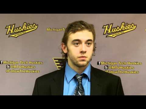 Michael Neville Postgame Interview vs. Bowling Green, 12-14-13