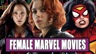 8 Female-Led Marvel Movies We'd Like To See by Clevver Movies