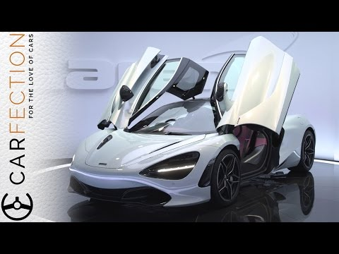 McLaren 720S: Lighter, Faster, Harder - Carfection (видео)