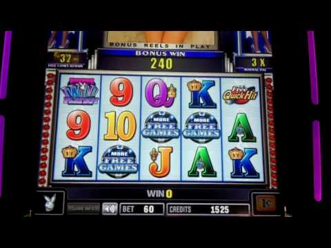Playboy Platinum Quick Hits Slot Bonus - Bally
