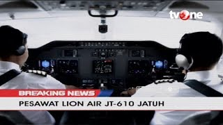 Download Video Begini Kronologi Jatuhnya Pesawat Lion Air JT-610 MP3 3GP MP4