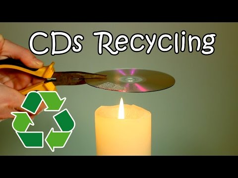 CDs and DVDs Recycling - How To Recycle Your Old CDs Into Useful Stuff
