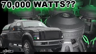 70,000 Watts? the Alphard Ford F-350 Dually (12) 15