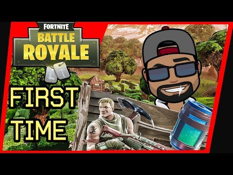 Fortnite Battle Royale: First Time Playing Online