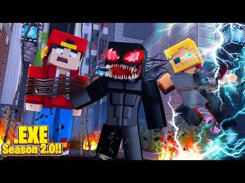 Minecraft .EXE 2.0 - THOR HELPS ROPO DEFEAT VENOM .EXE!!