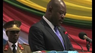 Burundian President Pierre Nkurunziza has assured East Africans that presidential elections due in the June will be peaceful. The President made the pledge w...