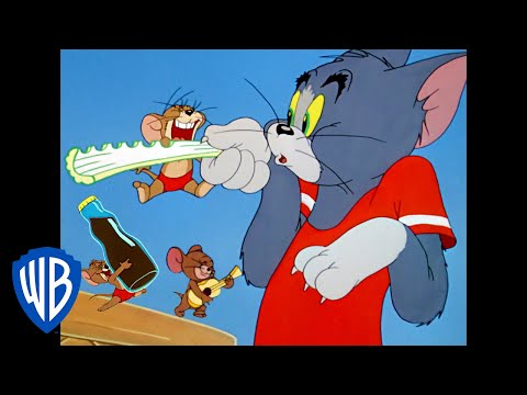 Tom & Jerry   The Joy of Summer   Classic Cartoon Compilation   WB Kids