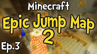 """Minecraft - Epic Jump Map 2 w/ Clash Ep.3 """" The Flower """""""