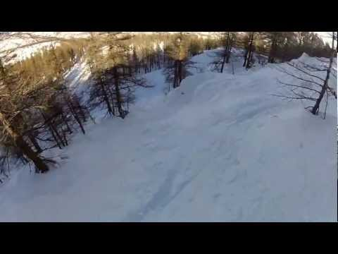 RIDE YOUR LINE in Serre Chevalier, by Pierre Vaultier 