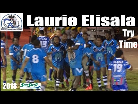 2018 Laurie Elisala Try ~ Zenadth Kes Rugby League ~ Saibai Stags V Roxin Eagles