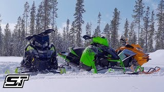 2. 2019 800-Class 137-Inch Shootout: Polaris VS Arctic Cat VS Ski-Doo