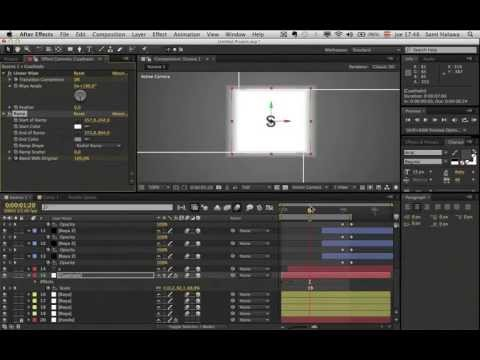 2/72 Mega Curso After Effects 90h De 0: Intro Espectacular (tutorial Español Desde 0)