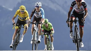 Frenchman Warren Barguil won stage 18 of the Tour de France on the summit of the Col d'Izoard on Thursday. His compatriot ...