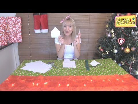 How to Make a Gingerbread House Template