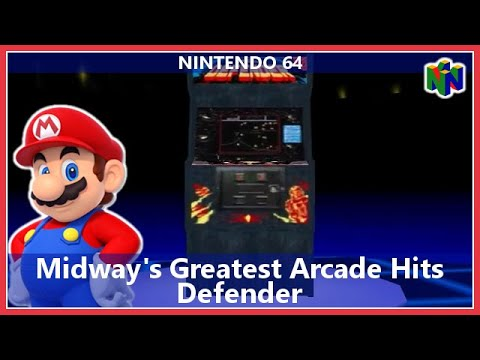 Midway's Greatest Arcade Hits Volume 1 Nintendo 64