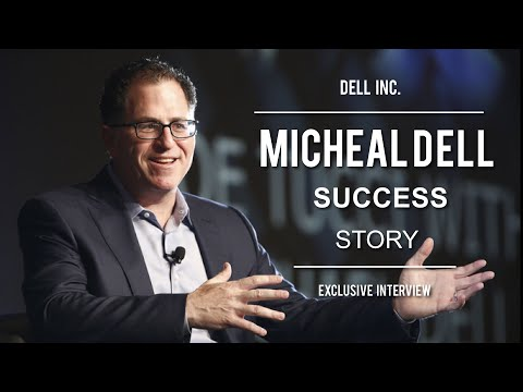 Dell - Exclusive interview of Michael S.Dell Founder & Ceo of Dell Inc. Original Video Source: Academy of Achievement http://achievement.org Brought to YouTube by C...