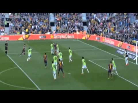 Barcelona vs Osasuna 7 - 0 All Goals & Highlights La Liga 16 03 2014 [HD]