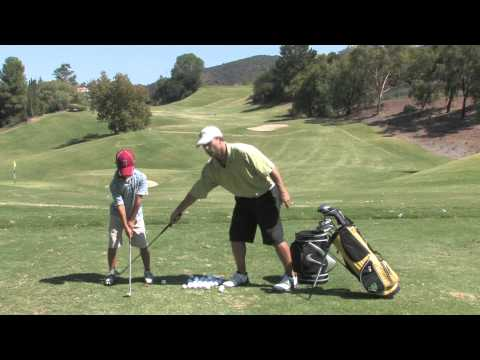Ballance Drill for Junior Golfers