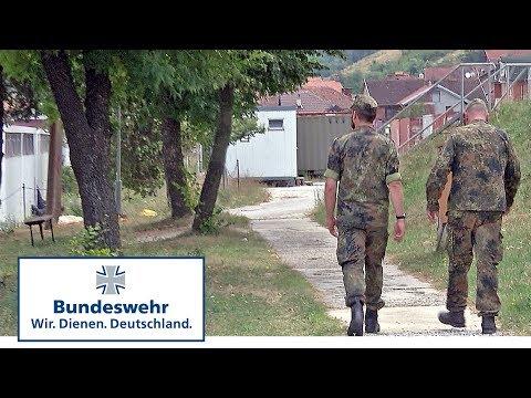 KFOR-Einsatz: Rundgang durchs Lager Prizren - Bundeswehr