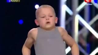 Amazing 7 Year Old Kid On Ukraine Talent Show