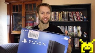 PS4 Pro unboxing (PlayStation 4 Pro 4K)