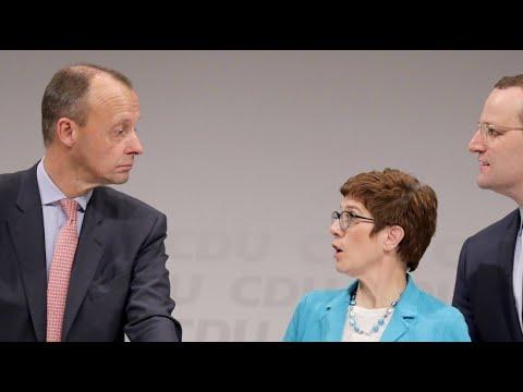 Berlin: Rennen um CDU-Vorsitz – letzte Regionalkonferen ...