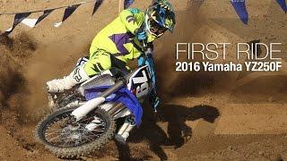 9. 2016 Yamaha YZ250F First Ride - MotoUSA
