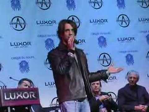 Criss Angel Live Show Slated for Luxor in 08