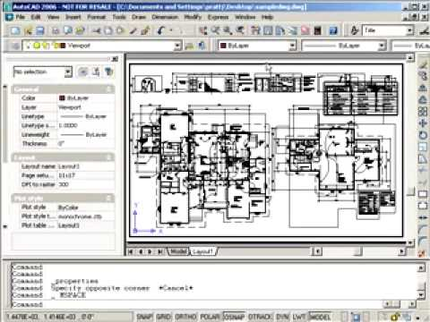 Publishing with Layouts in AutoCAD, Part 1 of 2