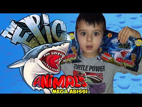 EDICOLA #7: Blind bags  THE EPIC - Animals Mega Abissi (видео)