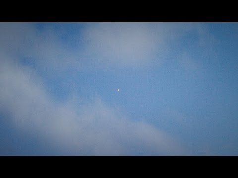 SpaceX CRS-6 first stage landing attempt, tracking camera view