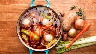 How To Make Veggie Stock From Kitchen Scraps by Tasty