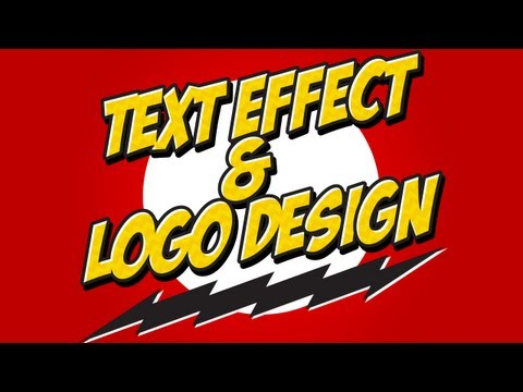Adobe Illustator – Text Effects and Logo Design Tutorial