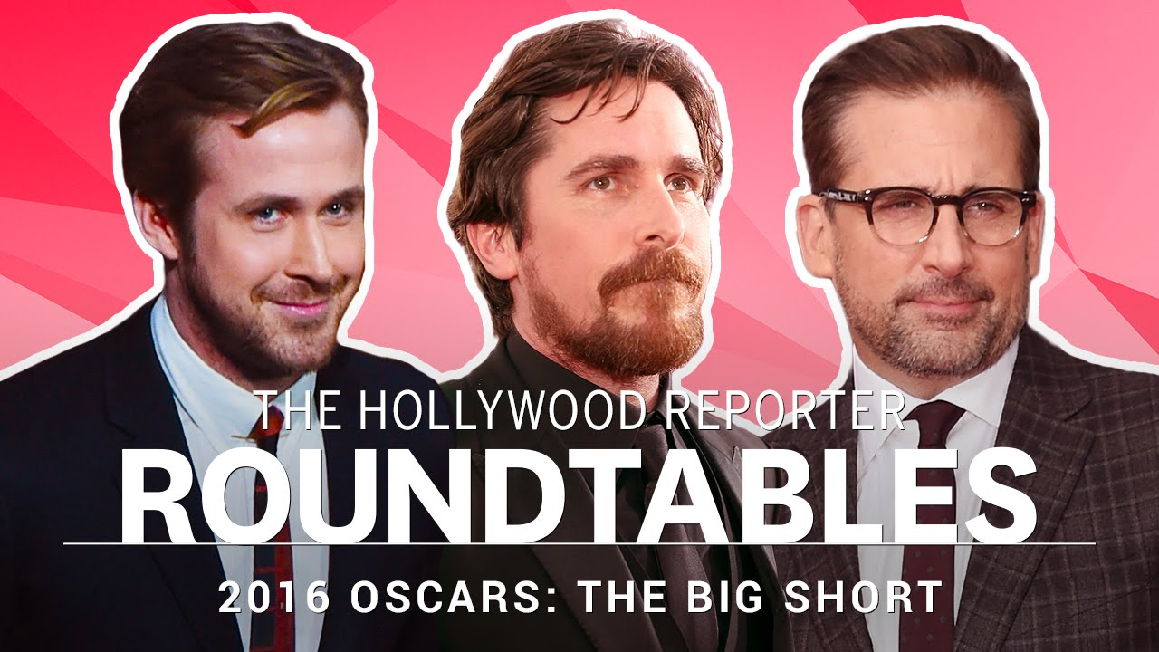 Video: Author Michael Lewis, Director Adam McKay & Cast of 'The Big Short' Cover Hollywood Reporter