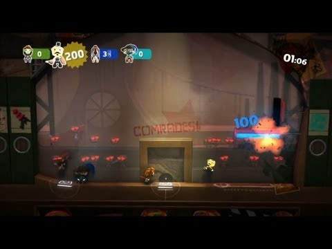 littlebigplanet2 - LittleBigPlanet 2 4-Player Minigames Basketball PlayStation 3 ---- Chris McGregor http://www.youtube.com/ChrisGMcG http://www.twitter.com/ChrisGMcG http://ww...