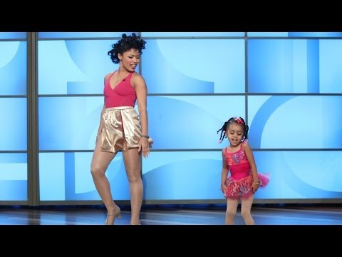 heaven - The adorable, pint-sized dancer was back with her mom for another astounding performance worthy of Beyoncé herself! Take a look.