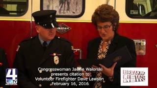 Congresswoman Walorski Honors local Firefighter