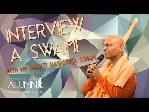 Interview with Bhakti Rasamrita Swami - PS Alumni
