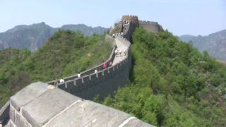 The Great Wall 长城 Marathon, 2010 - course walk