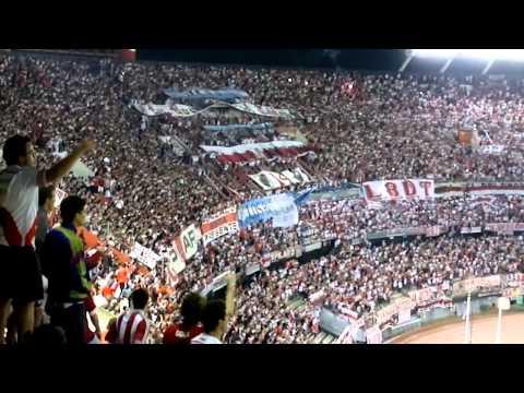 Video - SOY DE RIVER VAGO Y ATORRANTE + FIESTA - River Plate vs Estudiantes LP - Copa Sudamericana 2014 - Los Borrachos del Tablón - River Plate - Argentina