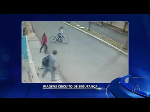 Comando da PM afasta policial e investiga flagrante de agressão a mulher em avenida de Neves Paulista (VÍDEO)