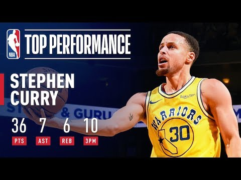 Video: Stephen Curry GOES OFF Connecting On 10 3PM | February 21, 2019