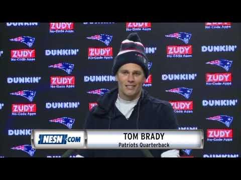 Video: Tom Brady Week 16 Patriots vs. Bills Pregame Availability