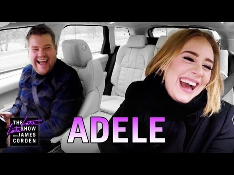 Adele Knocks Out Nicki Minaj Karaoke With James Corden [Video]