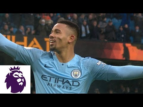 Video: Gabriel Jesus' powerful header makes it 2-0 against Everton | Premier League | NBC Sports