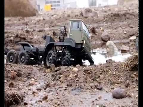 8x8 OFF-ROAD DRIVE  1:10 URAL 5423 by RUDI