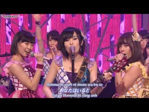 [Vietsub](140119) NMB48 Shin Domoto Kyoudai - Ame no Midousuji (видео)
